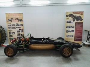 Almacén del MUNCYT - Coche de competición para Fórmula Nacional (luego Fórmula 1430) ME-PRE, fabricado por Antonio Albacete a principios de los 70 en su taller Mecánica de Precisión.