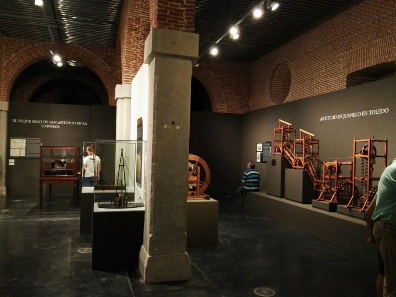 Maquetas y Modelos Históricos - Vistas de la exposición.
