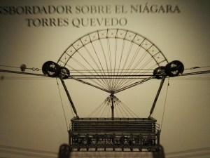 Maquetas y Modelos Históricos - Maqueta del año 1915 del transbordador sobre el Niágara diseñado por Leonardo Torres Quevedo.