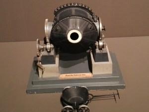 Maquetas y Modelos Históricos - Convertidor (horno) vertical de cobre.