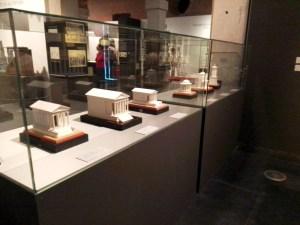 Maquetas y Modelos Históricos - Maquetas de edificios clásicos del taller de Fouquet.