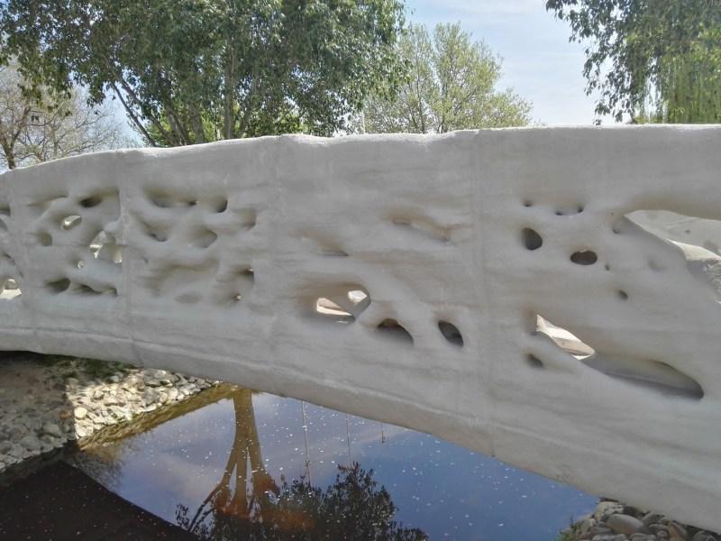 Puente Peatonal 3D -