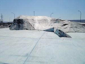 """Rotonda de la Antártida - Resulta curioso que se haya puesto el nombre reivindicativo argentino de """"Mar de la Flota"""", en lugar de Estrecho de Bransfield."""