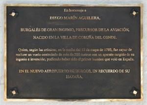 El vuelo de Diego Marín -