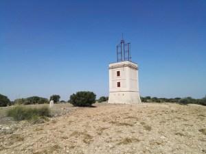 El telégrafo óptico - Torre del telégrafo de Arganda del Rey.