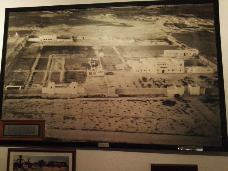 Museo de la Bripac - Imagen del fuerte Tiliuin (Ifni), donde en 1957 entró la Bripac en combate.