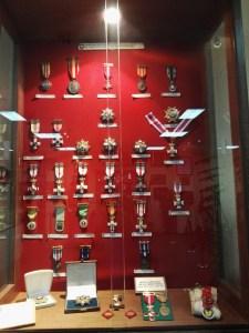 Museo de la Bripac - Medallas de las distintas de la Bripac.