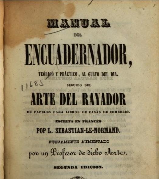 Museo de la Bripac - Lenormand fue un incansable escritor de libros de tecnología y oficios, muchos de los cuales se tradujeron al español.