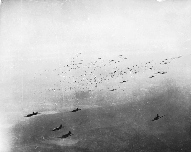 Museo de la Bripac - Durante la Operación Varsity, al final de la IIGM, 7200 paracaidistas fueron lanzados tras las líneas alemanas (4).