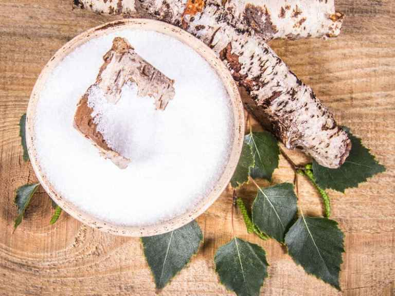 Azúcar de Abedul en grano y raiz