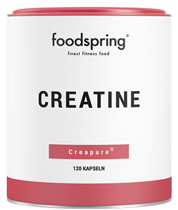 Cápsulas de creatina de Foodspring