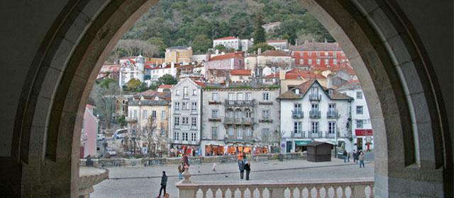 sintra, localidad cercana a lisboa, portugal