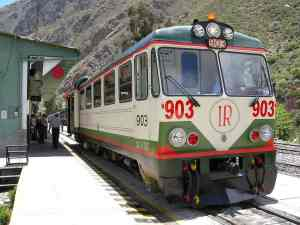 Viajar en tren a Machu Picchu - Inca Rail