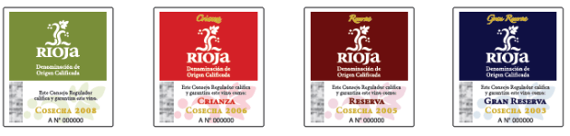 Rioja Wine Labels