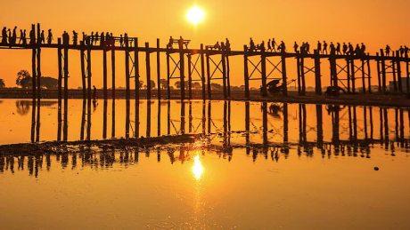 Mandalay templos pagodas puente ingles