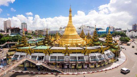 Pagoda Yangon español tours