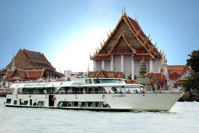 crucero chao phraya Ayutthaya