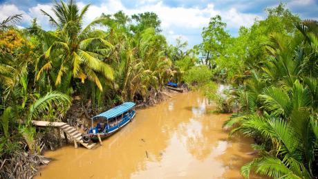 Meekong Delta Ben Tre guia en tailandia mercado flotante