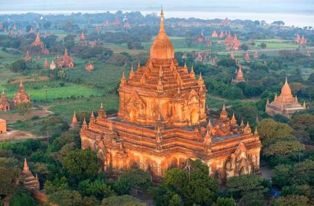 Pagoda Bagan ruinas guia en tailandia