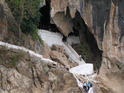 Cuevas Laos guia en tailandia español