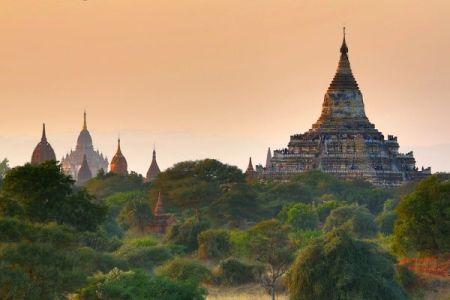 Bagan templos ruinas Burma