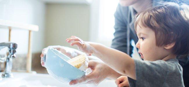 Las tareas que puede hacer un niño