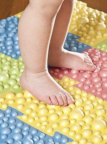 pie plano de los niños
