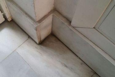 Cómo limpiar los rincones y filos de suelos de mármol muy sucio ...