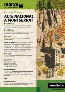 Acte marxa ANC a Montserrat