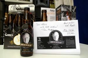 """cervesa """"Higgs Boson Ale"""""""