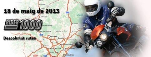 Rider 1000 - Moto club Manresa