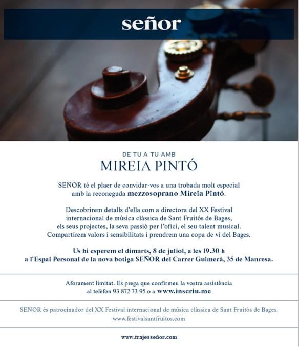Mireia Pinto - Señor