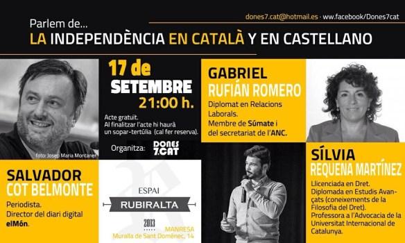 la independencia en castellano