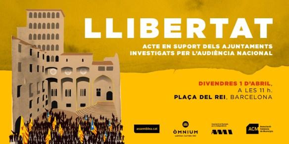 Acte 1 d'abril 2016 - Llibertat