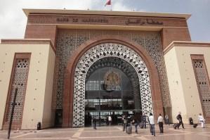 Gare de Comboio / Trem em Marrakech