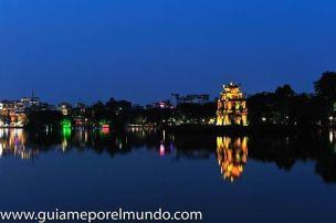 Lago Hoam Kiem en Hanoi