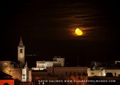 Salida de la luna en Vejer