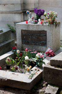 tumba Jim Morrison