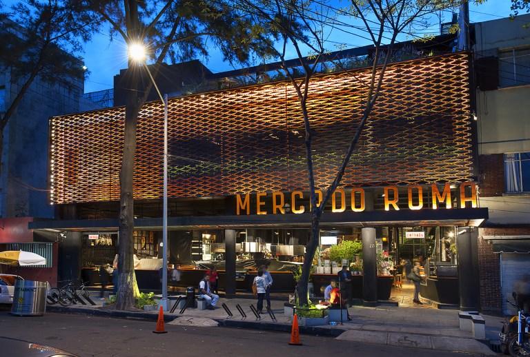 Mercado Roma na Cidade do México
