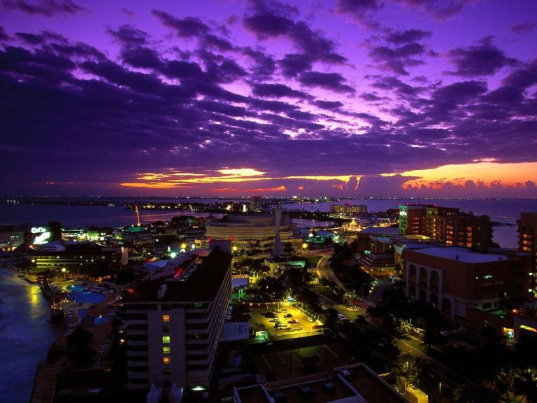 o que fazer em Cancun a noite
