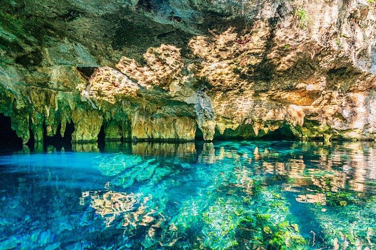 Gran Cenote na Riviera Maya