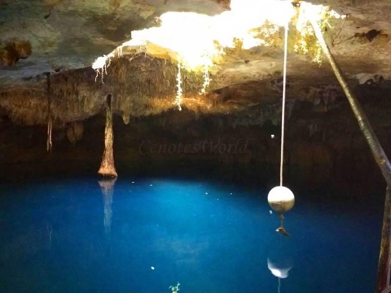 Cenotes Kin Ha em Puerto Morelos