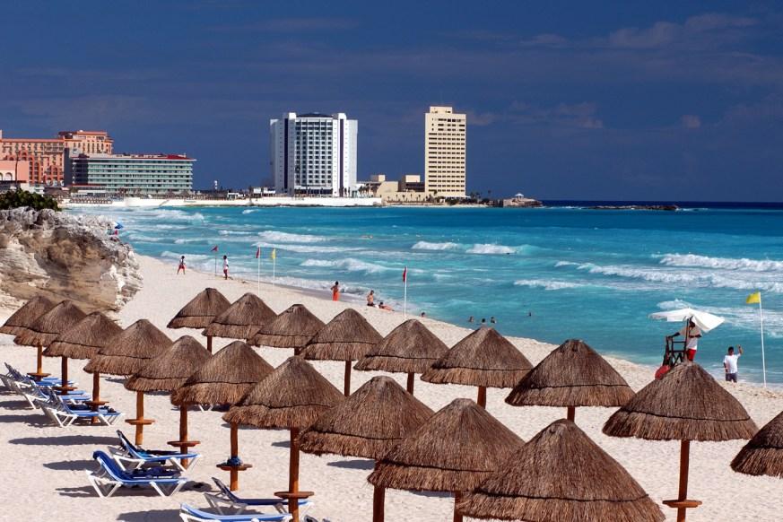 Temporada alta em Cancun
