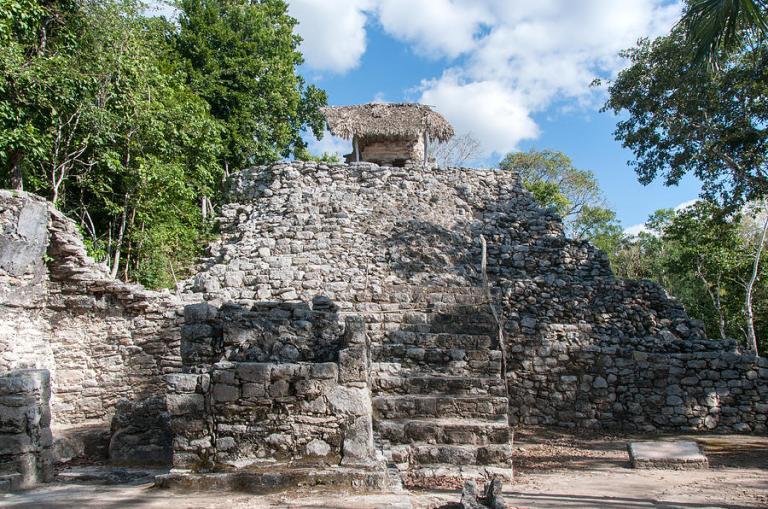 Pirâmides na Riviera Maya