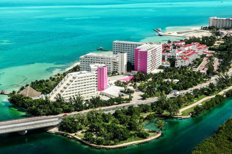 Grand Oasis Palm melhores hotéis para crianças em Cancun