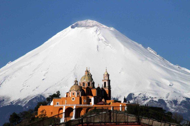 Pontos turísticos do México Cholula Pirâmides do México