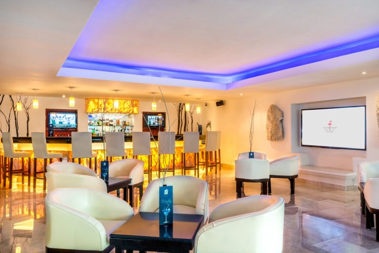Palenque Lobby Bar Hotel Flamingo Cancun