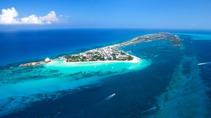 Playa Norte em Isla Mujeres