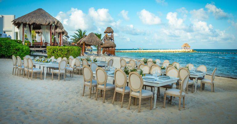 Casamento em Cancun somente os noivos