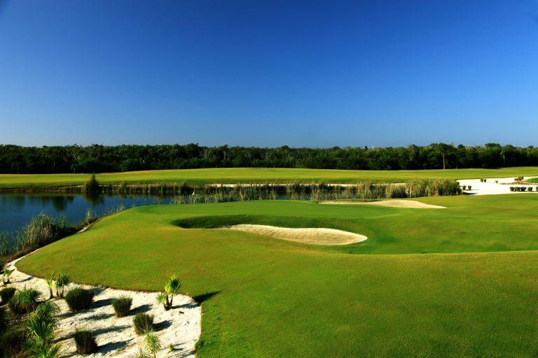 Golfe no Moon Palace Cancun
